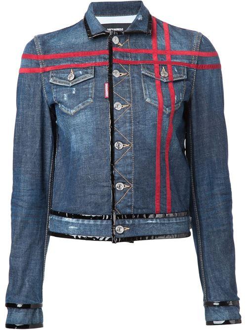 Джинсовые куртки и жакеты 2016 Dsquared