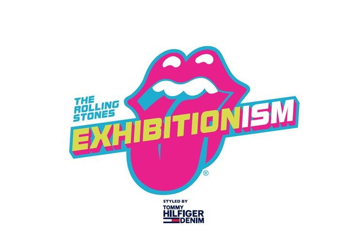 EXHIBITIONISM - The Rolling Stones Logo