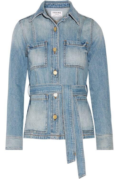 Джинсовые куртки и жакеты 2016 Frame Denim