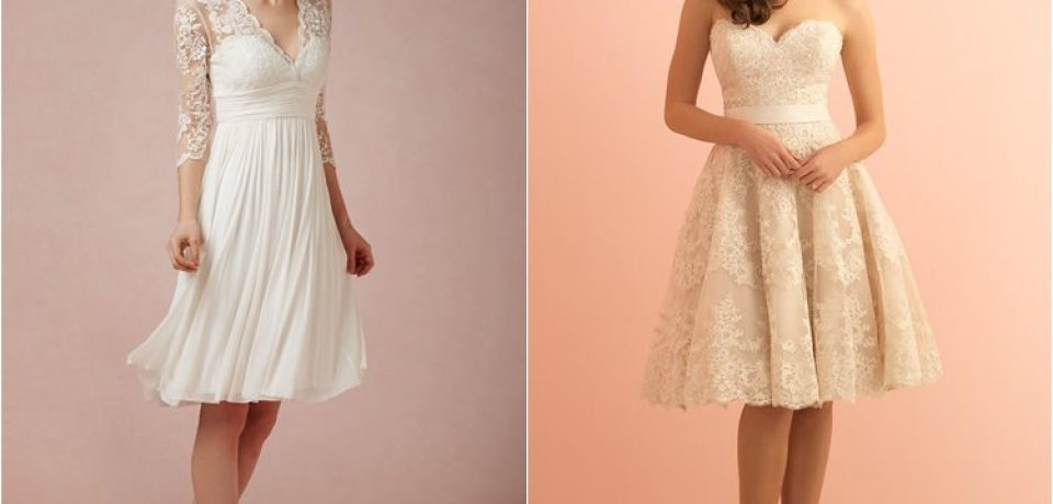 Короткие свадебные платья 2016 (30 фото)