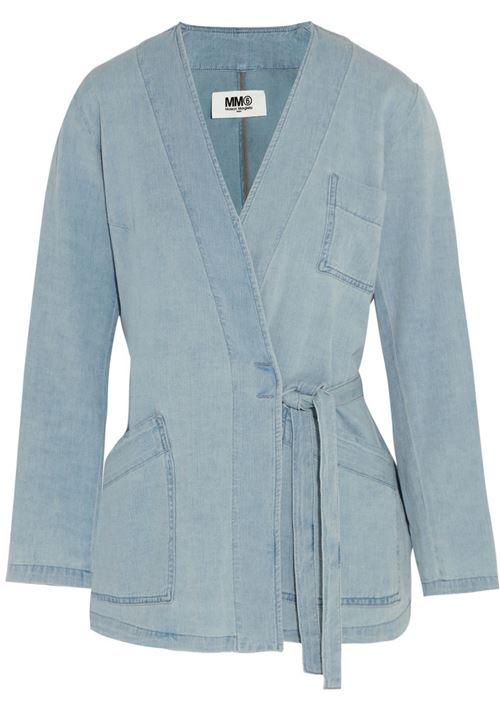 Джинсовые куртки и жакеты 2016 MM6 Margiela