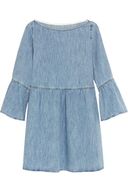 Джинсовое платье MM6 Maison Margiela