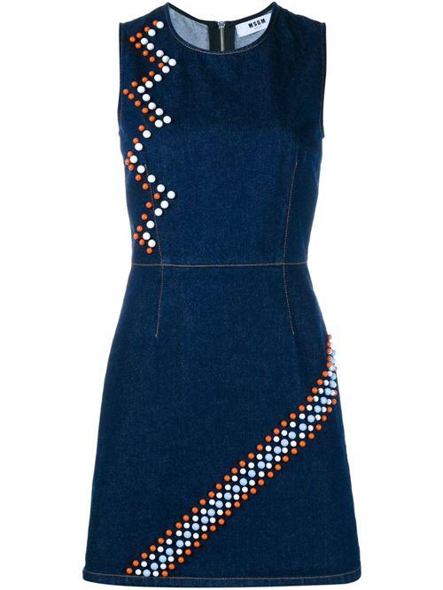 Джинсовое платье MSGM