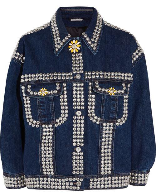 Джинсовые куртки и жакеты 2016 Miu Miu