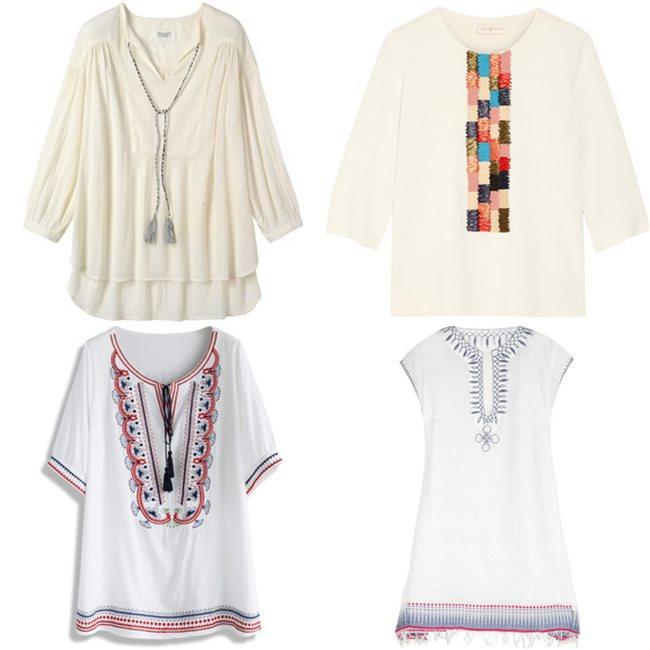 Модные туники на лето 2016   (10)