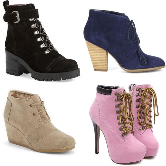 Модные женские ботинки 2016 фото (3)