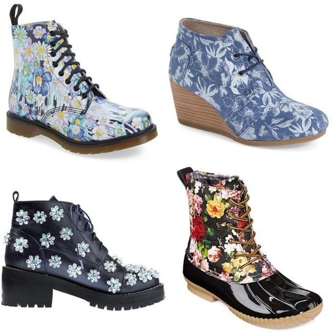 Модные женские ботинки 2016 фото (4)