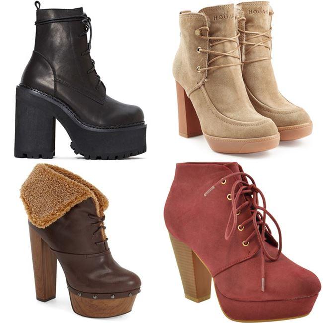 Модные женские ботинки 2016 фото (5)
