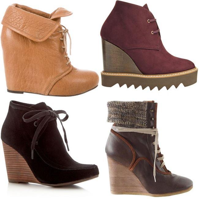 Модные женские ботинки 2016 фото (7)