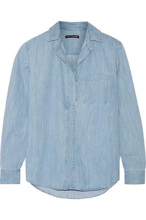 Женские джинсовые рубашки 2016 Rag&Bone