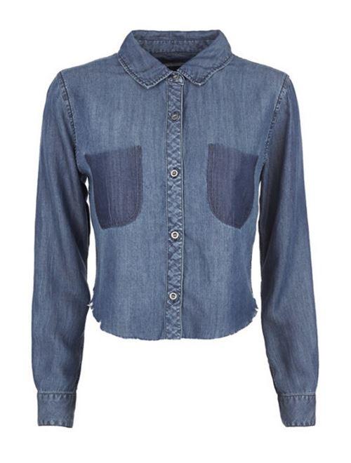 Женские джинсовые рубашки 2016 Rails