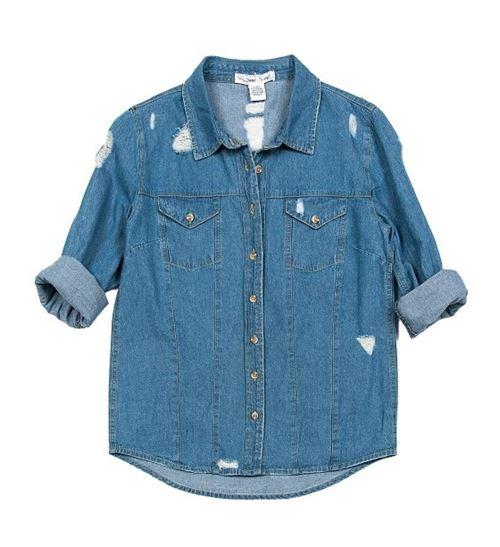 Женские джинсовые рубашки 2016 Sans Souci