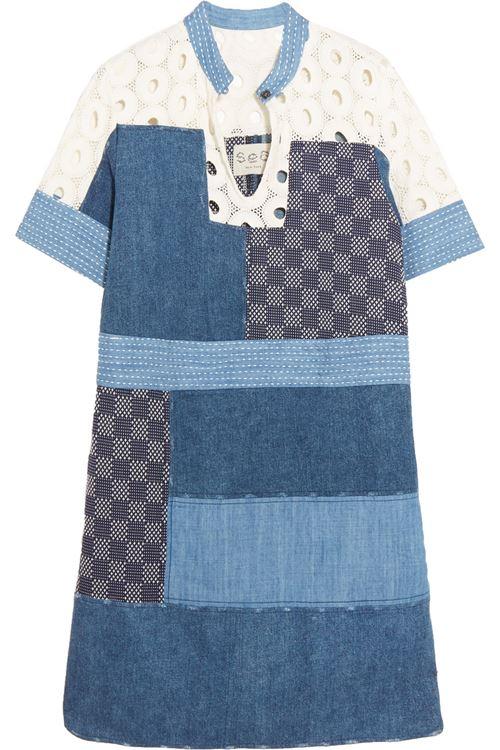 Джинсовое платье Sea