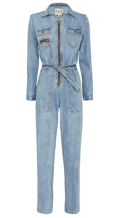 джинсовые комбинезоны 2016 фото 12