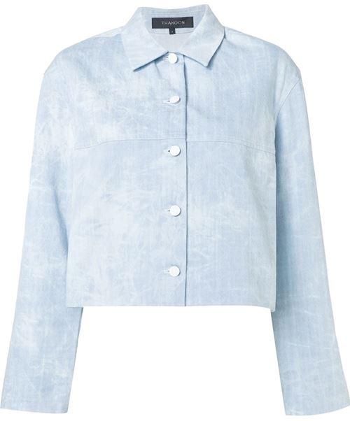 Джинсовые куртки и жакеты 2016 Thakoon