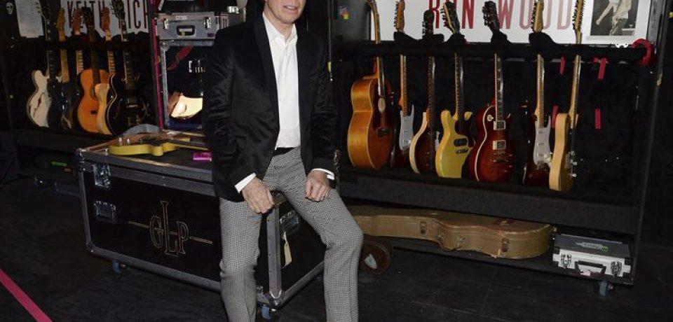 Tommy Hilfiger празднует открытие выставки Exhibitionism группы The Rolling Stones в Лондоне