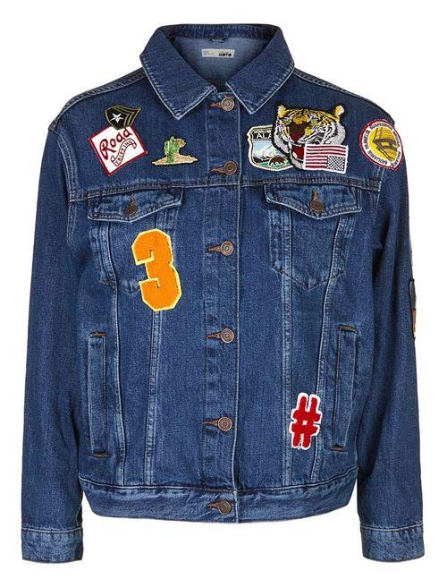 Джинсовые куртки и жакеты 2016 Topshop