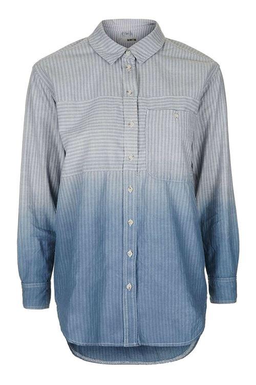 Женские джинсовые рубашки 2016 Topshop