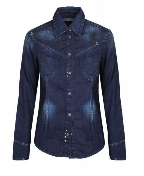 Женские джинсовые рубашки 2016 Vivienne Westwood