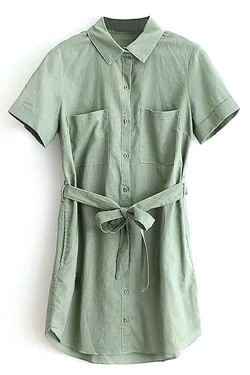 Платья-рубашка Yoins