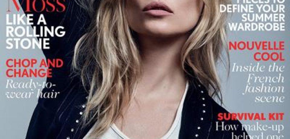 Кейт Мосс в фотосессии Vogue UK (май 2016)