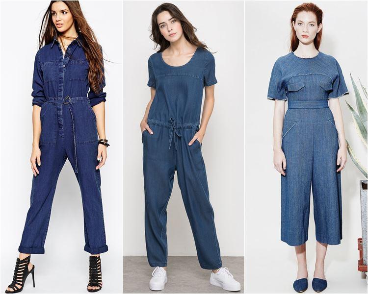 модные джинсовые комбинезоны (2)
