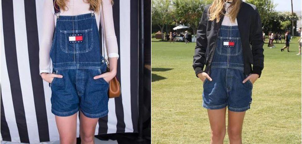 Сьюки Уотерхаус в Tommy Hilfiger на фестивале Coachella-2016