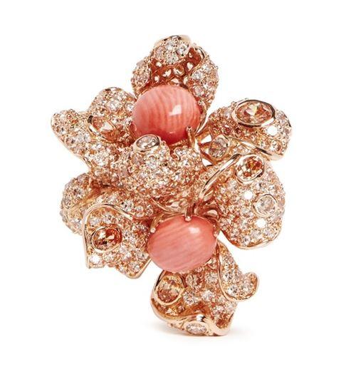 кольца с цветами Anabela Chan