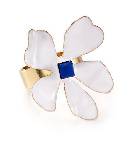 кольца с цветами Aqua