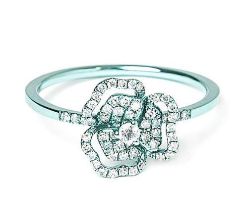 кольца с цветами As29