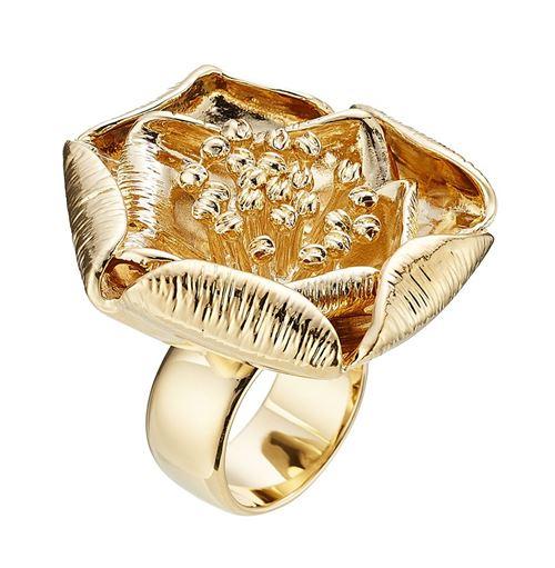 кольца с цветами Aurelie Biderman