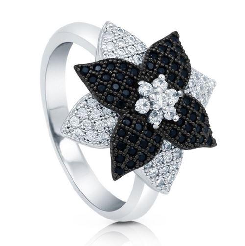 кольца с цветами Berricle