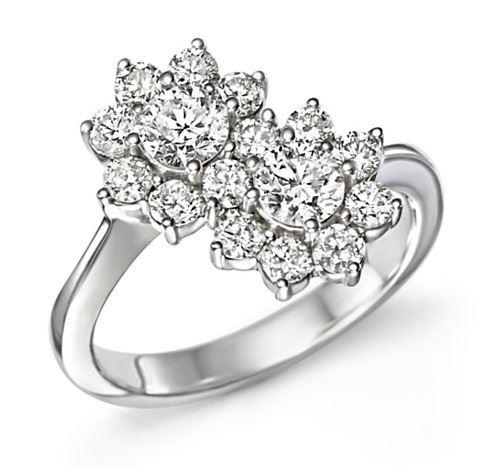 кольца с цветами Bloomingdale's