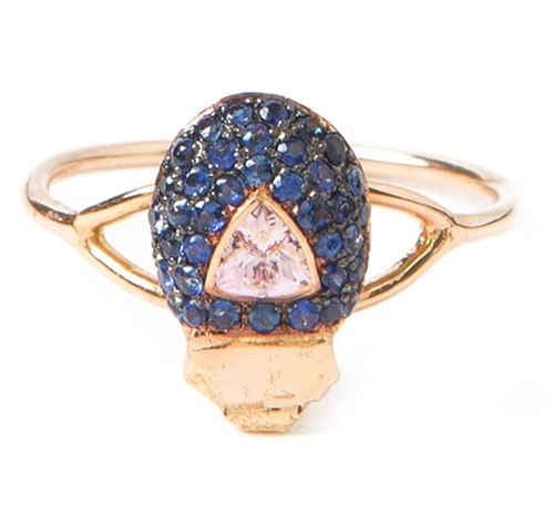 кольцо с сапфирами Daniela Villegas