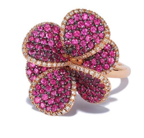 кольца с цветами Effy