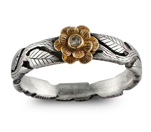 кольца с цветами Emma Chapman