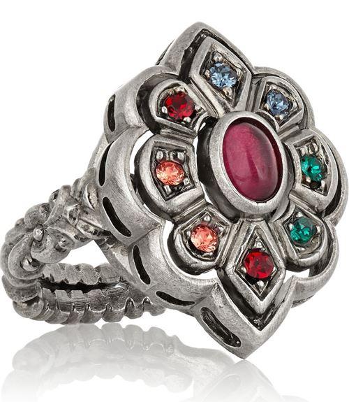 кольца с цветами Gucci