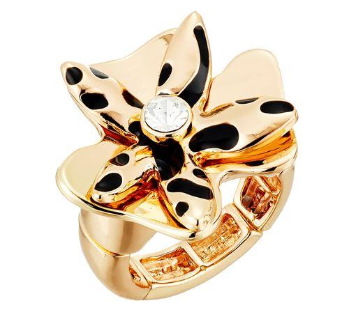 кольца с цветами Guess