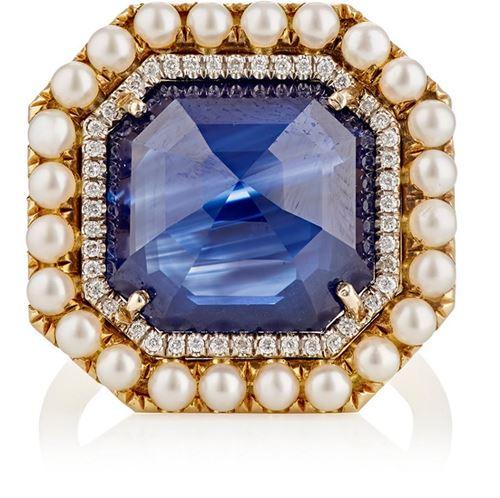 кольцо с сапфиром Irene Neuwirth