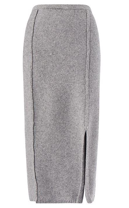 длинная юбка-карандаш 2016