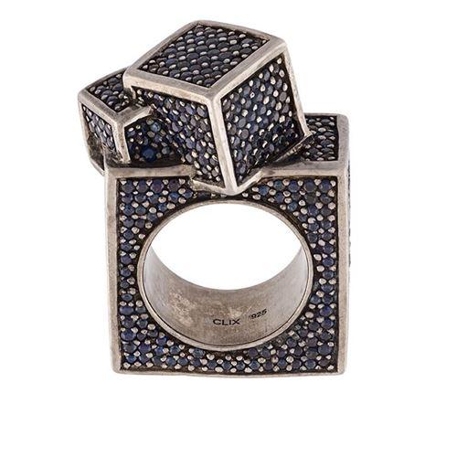 кольцо с сапфирами John Breward