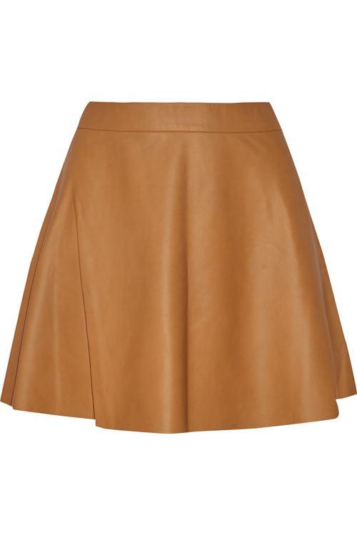 короткая кожаная юбка 2016