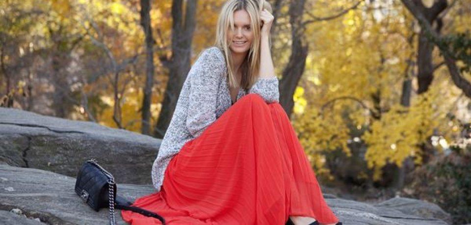 Как носить длинные юбки-макси (26 фото)