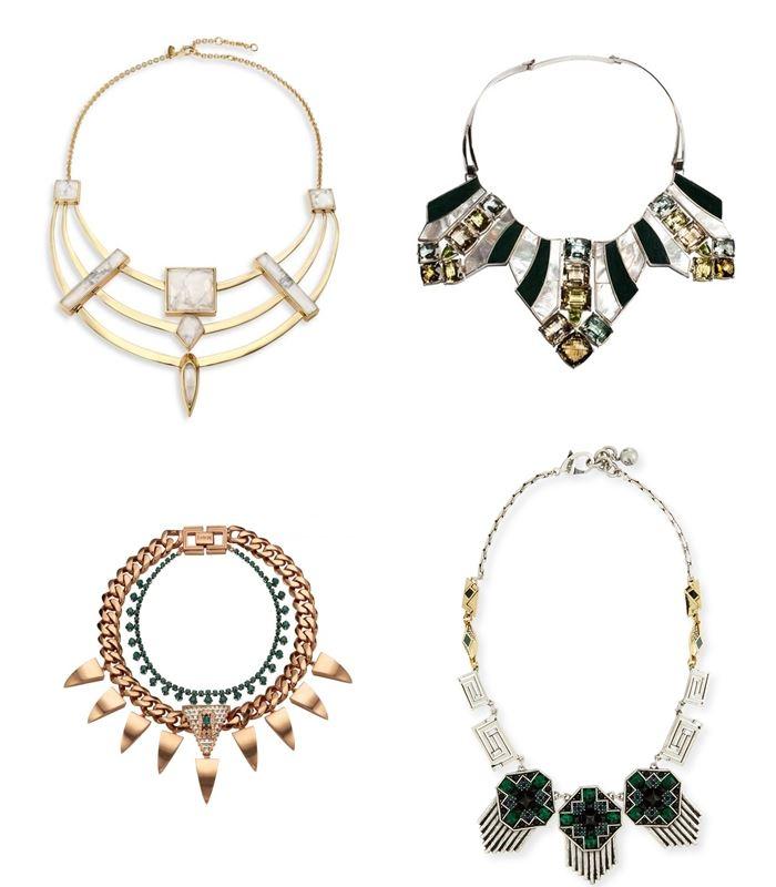 Колье и ожерелья весна-лето 2016   (10)