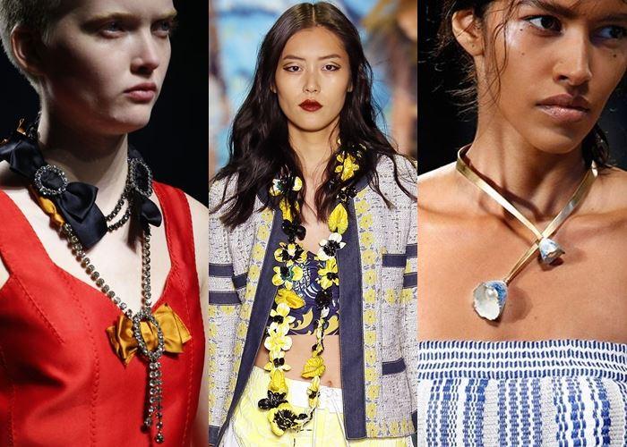 Колье и ожерелья весна-лето 2016   (8)