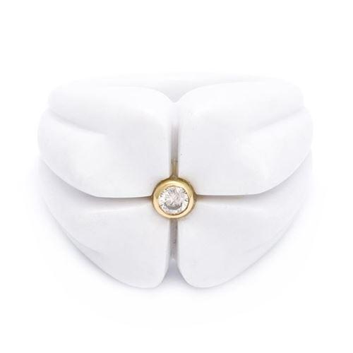 кольца с цветами Kristin Hanson