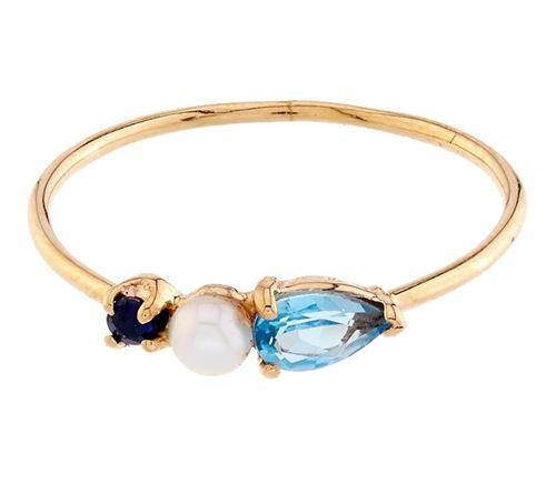 кольцо с сапфиром Loren Stewart