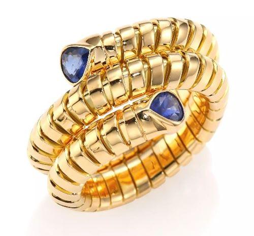 кольцо с сапфирами Marina B