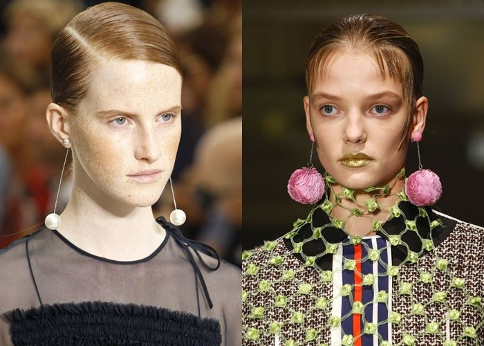 Модные серьги весна-лето 2016  (2)