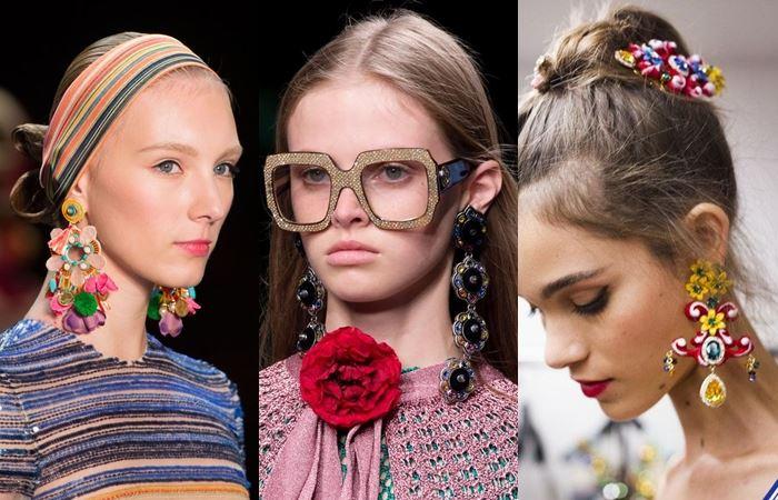 Модные серьги весна-лето 2016  (8)